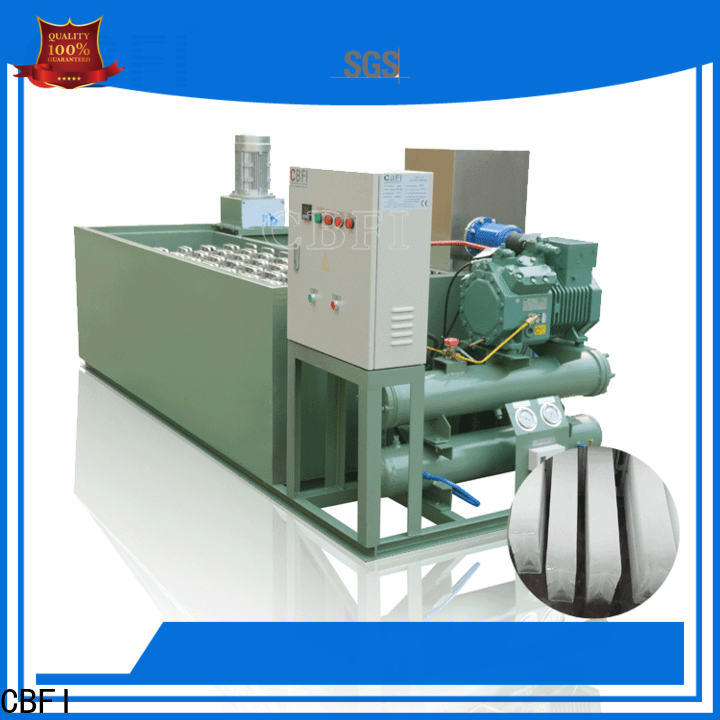 CBFI durable commercial block ice maker factory price for freezingg
