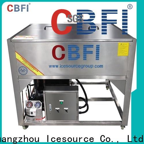 high reputation clear ice cube machine drinks factory price for summer