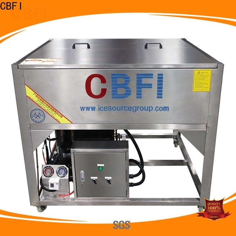 CBFI per clear ice block maker bulk production for whiskey