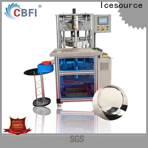 CBFI ball ice machine in china for ice bar