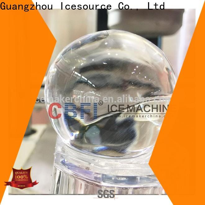 CBFI best crystal clear ice ball maker factory price for freezingg
