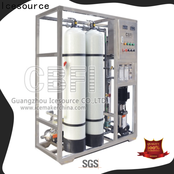 CBFI water filter system for wholesale for ice sculpture