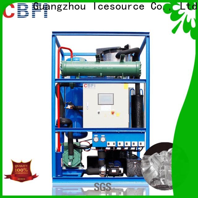 CBFI luxury ice tube maker bulk production for high-end wine