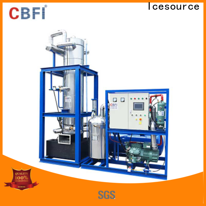 CBFI ice tube machine for sale from manufacturer for high-end wine