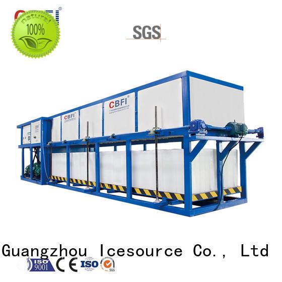 CBFI widely used direct cooling block ice machine customized for freezing