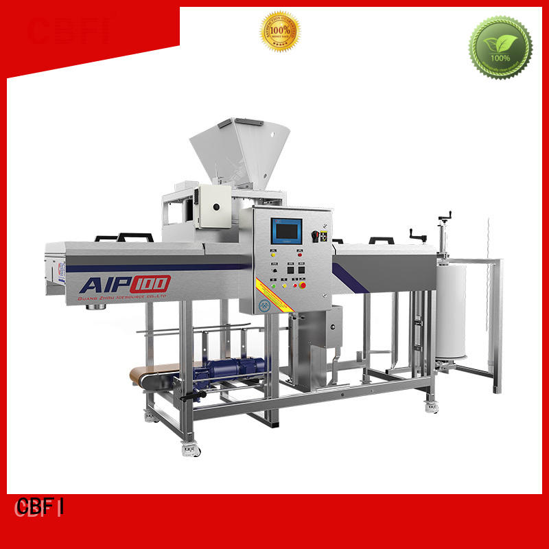 large capacity ice cream packaging machine packing long-term-use for ice sphere