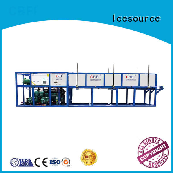 CBFI day block ice machine maker customized for vegetable storage