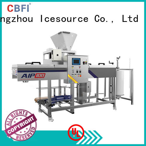 CBFI plants professional ice machine order now for wine cooling