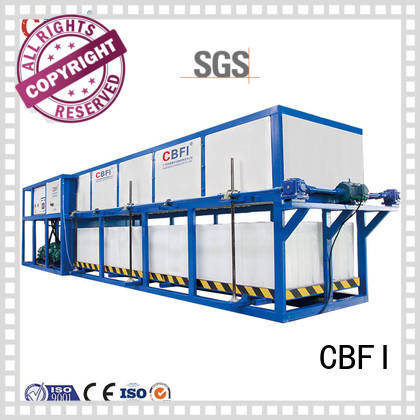 reliable direct cooling block ice machine cbfi from china for vegetable storage