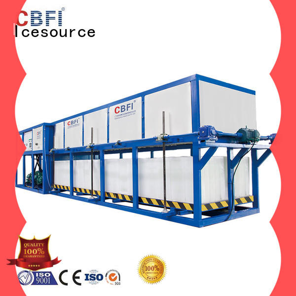 CBFI abi150 ice maker with drain pump factory price for fruit storage