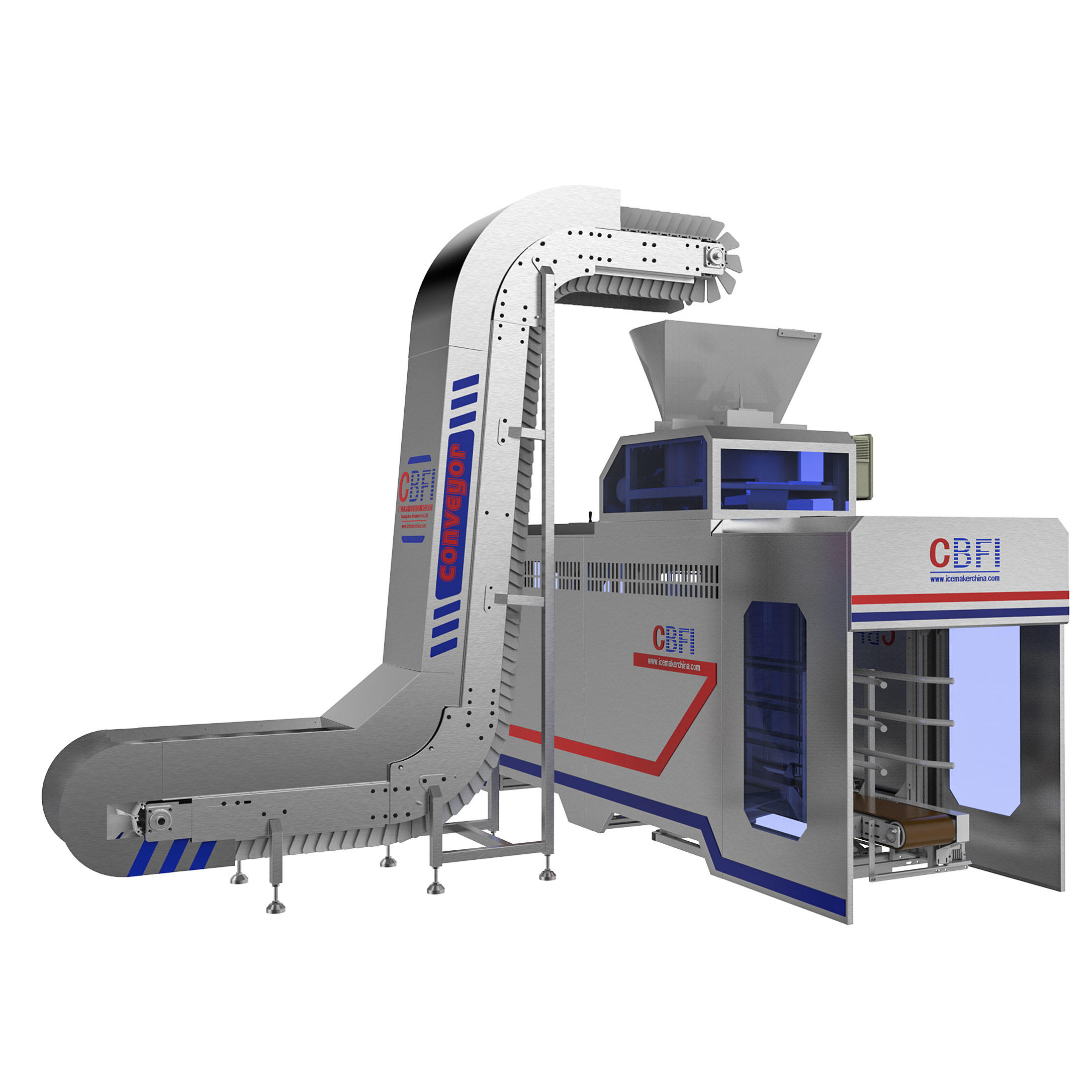 CBFI-Find Automatic Ice Packing Machine From Icesource