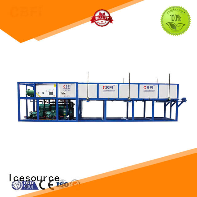 CBFI reliable block ice machine maker manufacturer for vegetable storage
