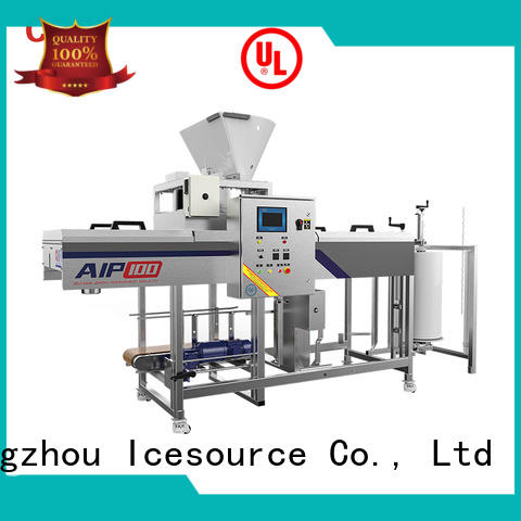 CBFI high-end ice cream packaging machine widely-use for wine cooling