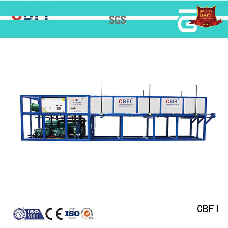 CBFI widely used ice maker plant from china for fruit storage