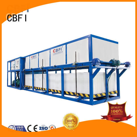 CBFI abi150 direct cooling block ice machine order now for fruit storage