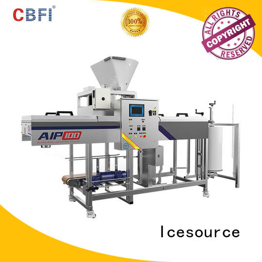 long-term used automatic ice packing machine large free design for ice sculpture shaping